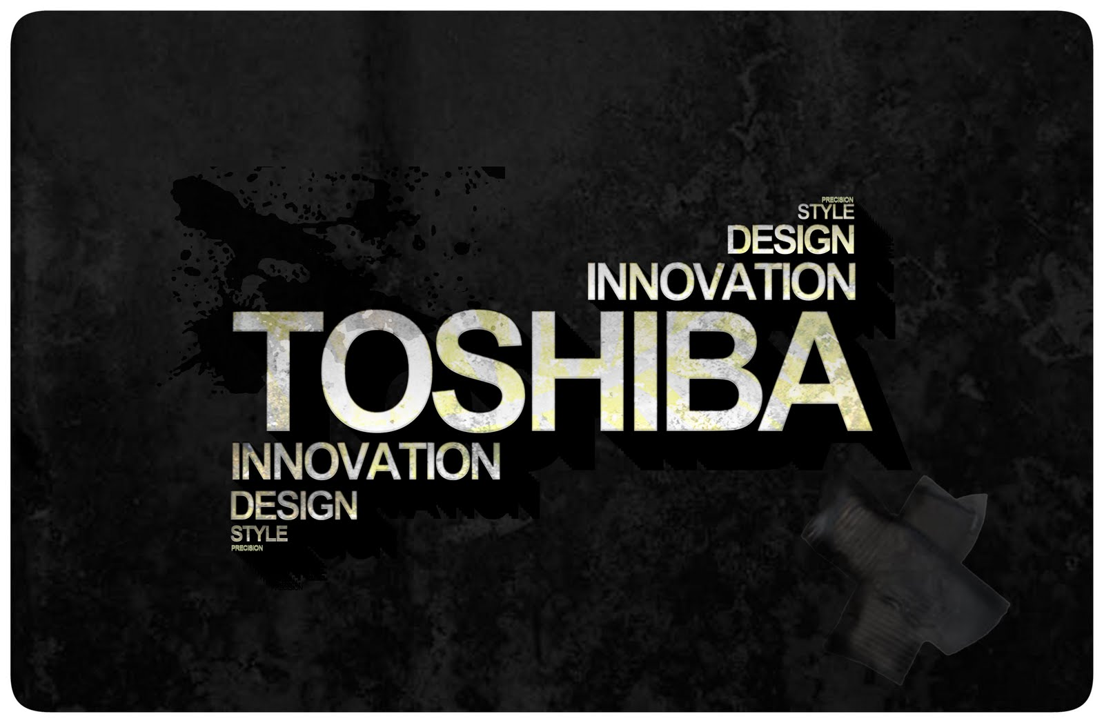 The Gallery For Gt Black Toshiba Wallpaper