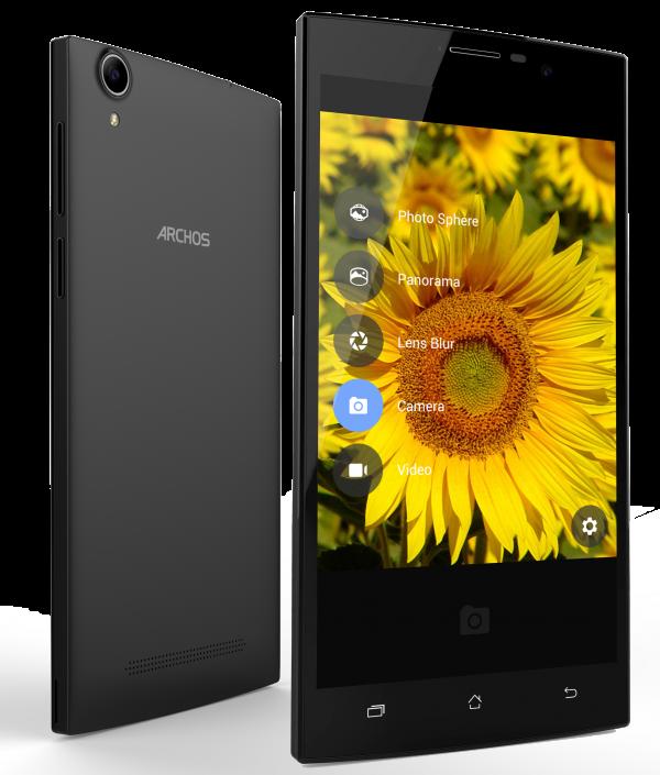 Бюджетные смартфоны archos с hd дисплеями