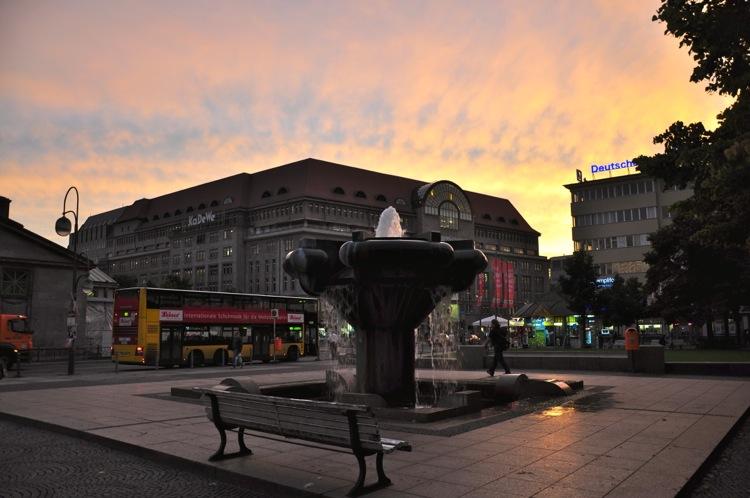 Вечер на площади Виттенберг