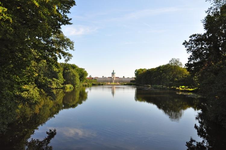 Шарлоттенбург. Вид из парка