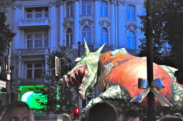 Дракон на улице Курфюрстен