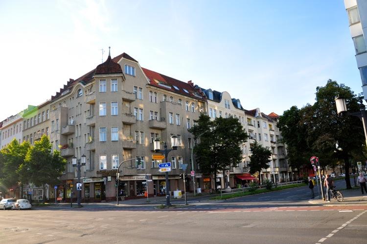 Типичный дом в западном Берлине