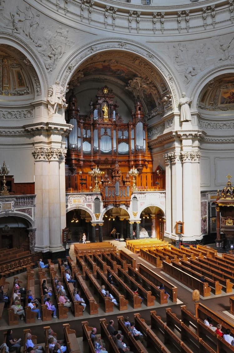 Орган в Берлинском соборе