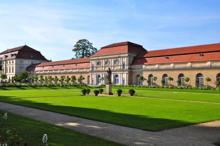 Продолжение замка Шарлоттенбург