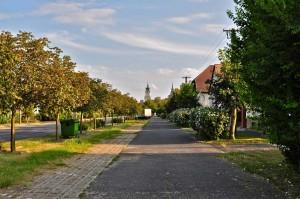 Типичная улица в Венгерской провинции