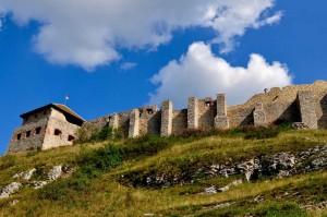 Замок сбоку