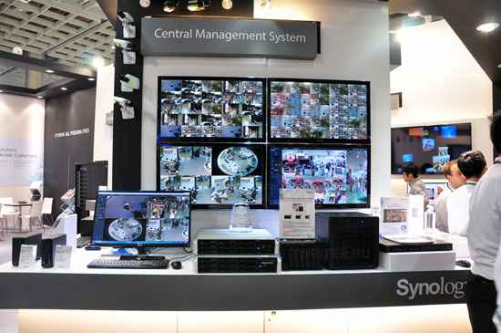 Пример мощной системы видеонаблюдения
