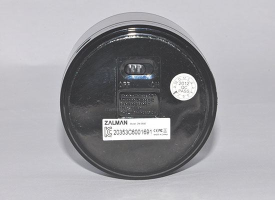 ZALMAN ZM-S500 нижняя панель