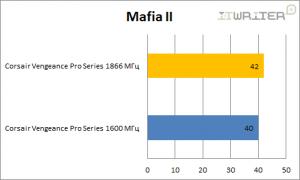 Результаты тестирования в Mafia II