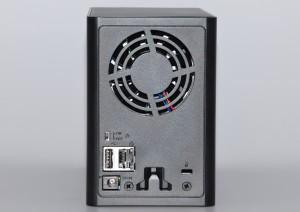 Buffalo LS420 - задняя панель