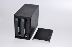 Buffalo LS420 - Подключаем жёсткий диск