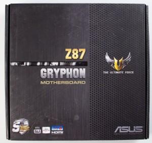 Упаковка материнской платы ASUS Gryphon Z87