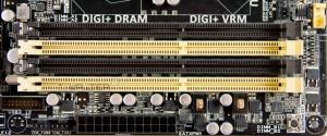 Разъемы оперативной памяти ASUS Z87 Deluxe