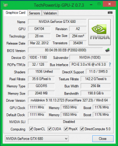 Характеристики Inno3D GeForce GTX 680 iChill HerculeZ 3000