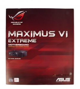 Упаковка материнской платы ASUS Maximus VI Extreme