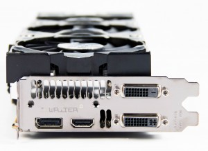 Видеовыходы Inno3D GTX 780 iChill HerculeZ 3000