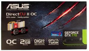 Упаковка ASUS GTX 770 DirectCU II OC