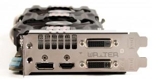 Видеовыходы видеокарты ASUS GTX 770 DirectCU II OC