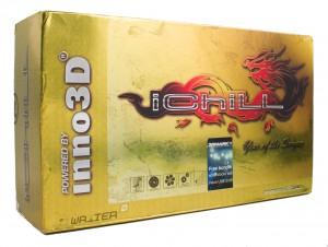 Упаковка видеокарты Inno3D GTX 680 iChill HerculeZ 3000