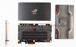 SSD ASUS ROG RAIDR Express 240Gb в разборе