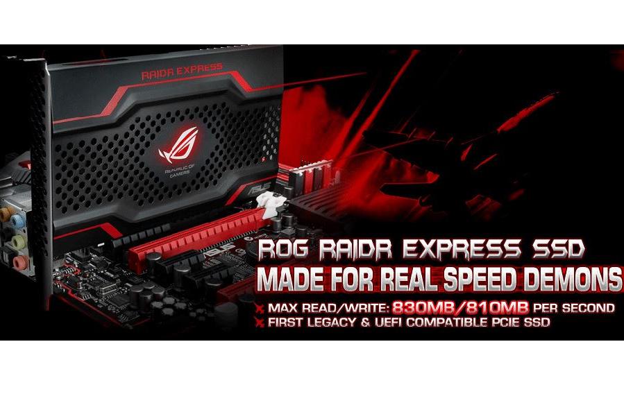 В погоне за скоростью. Обзор SSD ROG ASUS RAIDR Express 240Gb