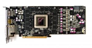 Видеокарта AMD R290X без системы охлаждения