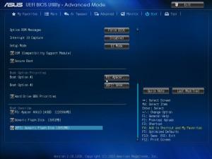 BIOS материнской платы ASUS Z87 Expert
