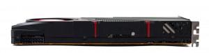 Видеокарта AMD R290X. Вид сбоку