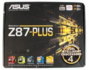 Упаковка материнской платы ASUS Z87 Plus