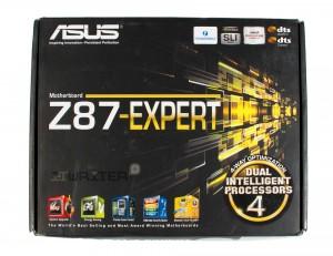 Упаковка материнской платы ASUS Z87 Expert