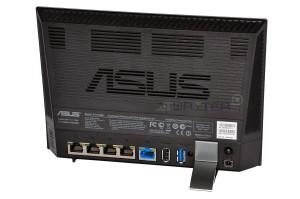 ASUS RT-AC56U - задняя панель