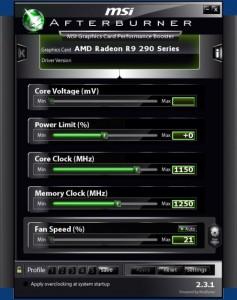 Разгон AMD R290X