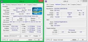 Intel 4770K + ASUS Z87 Plus в разгоне