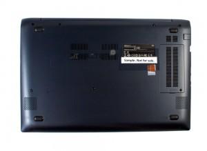 Ноутбук Samsung ATIV Book 6 NP-670Z5E-X01. Вид снизу