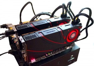 Система на Core i7 4770K + 2 x AMD R290