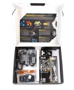 Комплектация материнской платы ASUS X79 Deluxe
