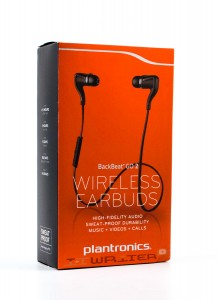 Упаковка Plantronics Backbeat Go 2 Black