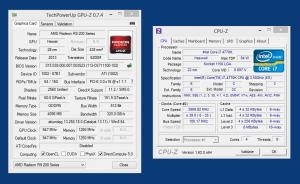 Характеристики стоковой AMD R290