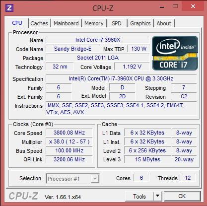 Intel Core i7 3960X
