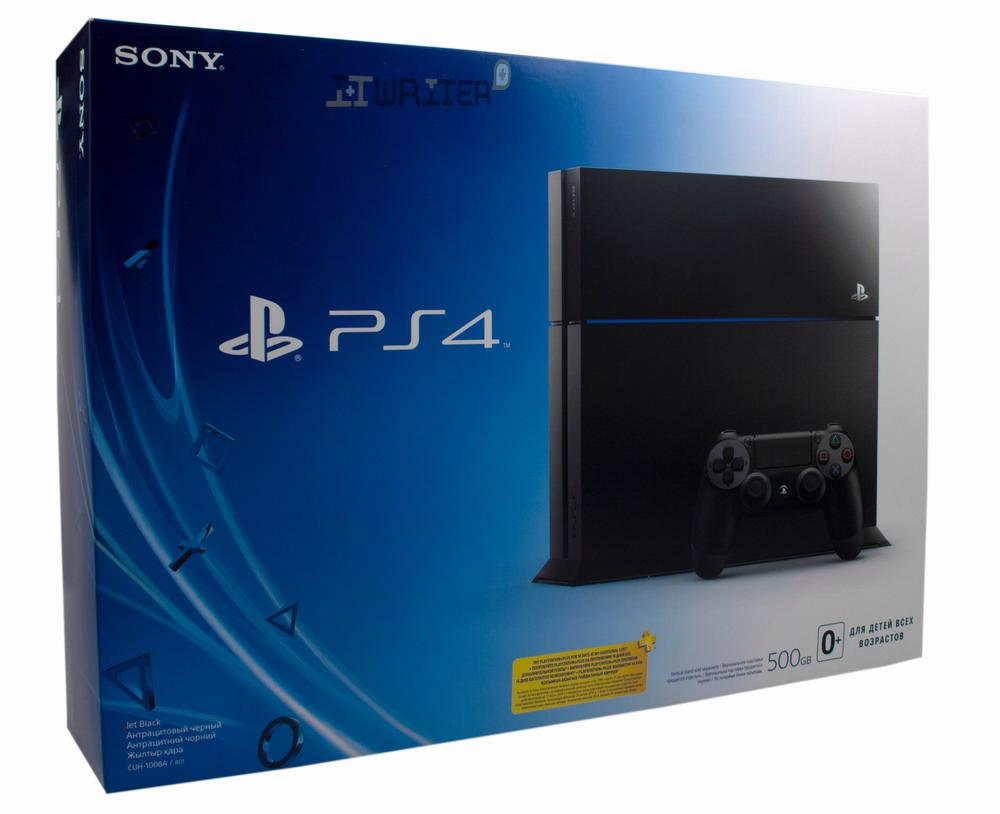 Упаковка Sony Play Station 4