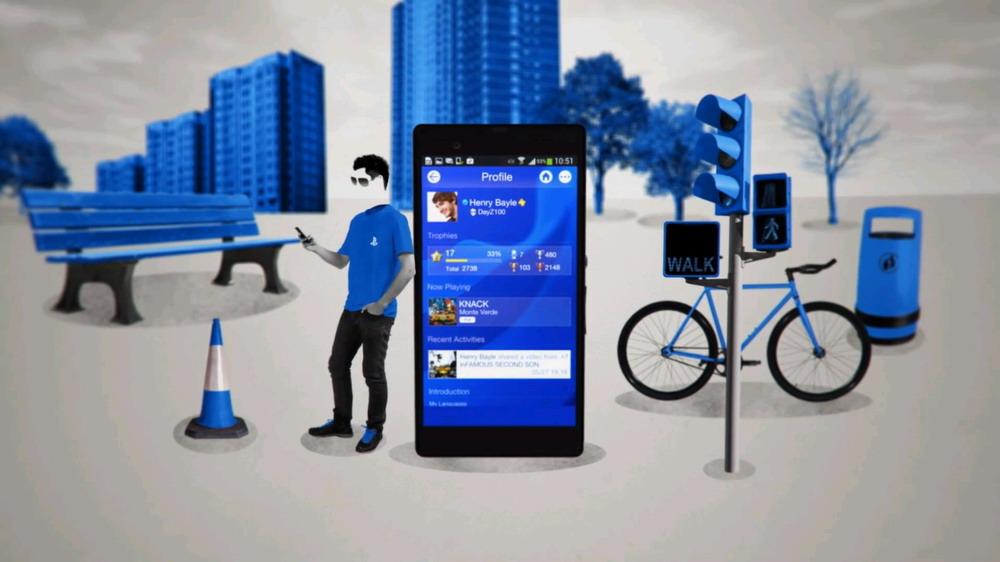 Приложение для смартфонов и планшетов PlayStation App
