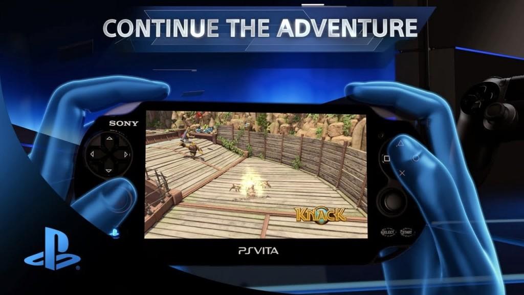 Стриминг Knack на PS4