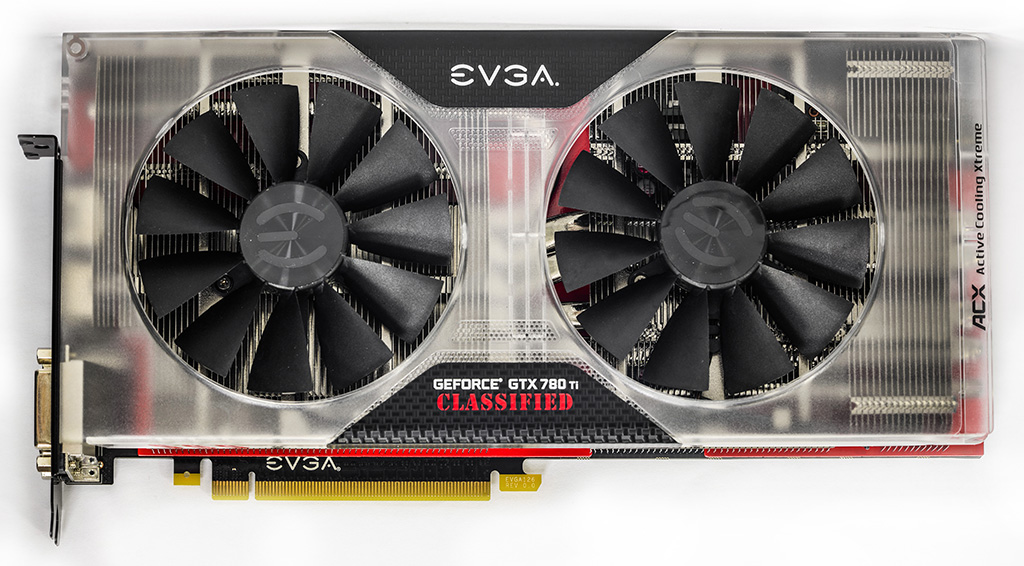 EVGA GeForce GTX 780 Ti специального выпуска Classified K|NGP|N Edition