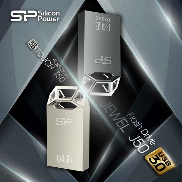 Silicon Power Touch T50 and USB 3.0 Jewel J50