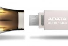 Двусторонний флеш-накопитель ADATA UC330 Dual USB