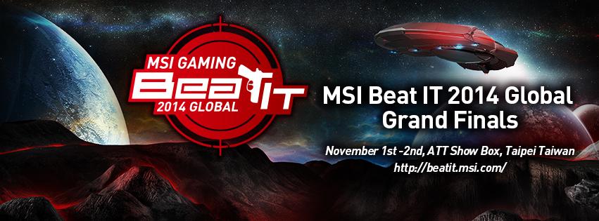 01_MSI Beat IT 2014 Global Grand Finals Light up the Sleepless Taipei Sp...