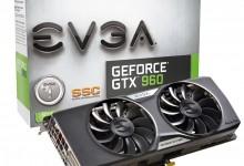 Видеокарта GeForce GTX 960 от EVGA