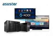 В NAS компании ASUSTOR реализована поддержка Kodi
