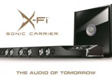 Creative выходит на рынок High-End звука с новой аудиосистемой Х-Fi Sonic Carrier