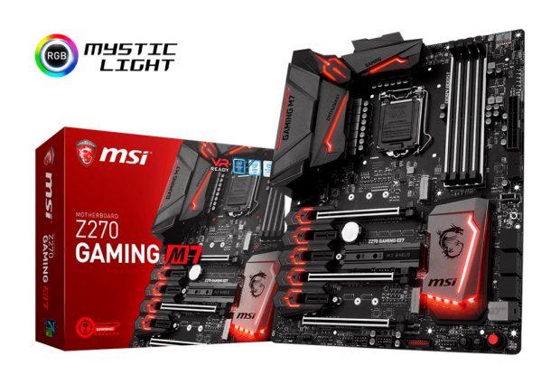 Обзор материнской платы MSI Z270 Gaming M7